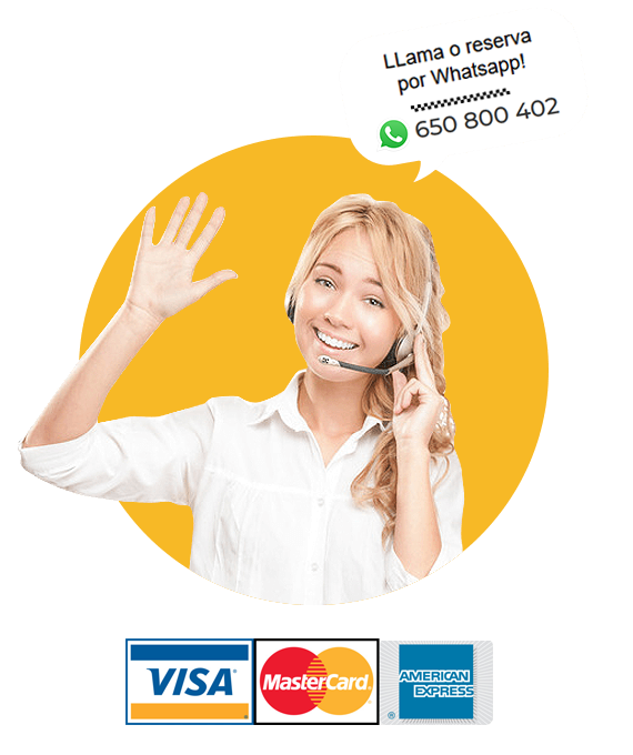 pagos tarjeta credito reservas taxi